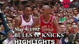 May 9, 1992 Bulls Vs Knicks Game 3 Highlights