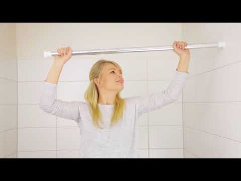 Duschvorhangstange ohne Bohren anbringen - So einfach geht's!