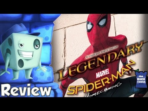 Legendary: Spider-Man Homecoming Review - with Tom Vasel