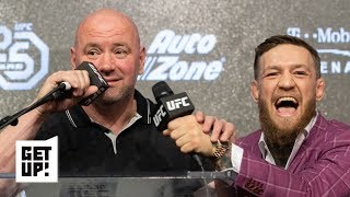 Dana White is hiding how upset he is over Conor McGregor's retirement – Ariel Helwani | Get Up!