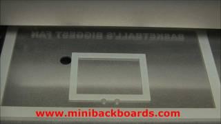 Custom Personalized Basketball Gift Ideas - Mini Backboards