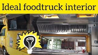 Ideal Food Truck Interior Short Video