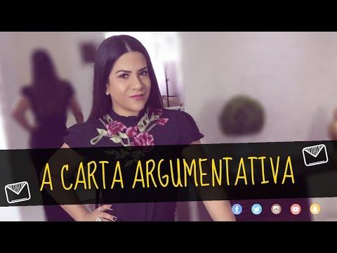COMO ESCREVER UMA CARTA ARGUMENTATIVA NO VESTIBULAR - Prof. Lorena Barbosa