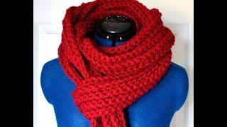 Супер быстрый и простой способ связать шарф