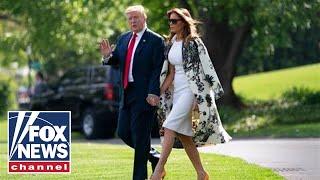 President Trump, first lady Melania host White House Easter Egg Roll