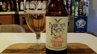 Flying Dog White Peach Saison (5.9% ABV) DJs BrewTube Beer Review #971