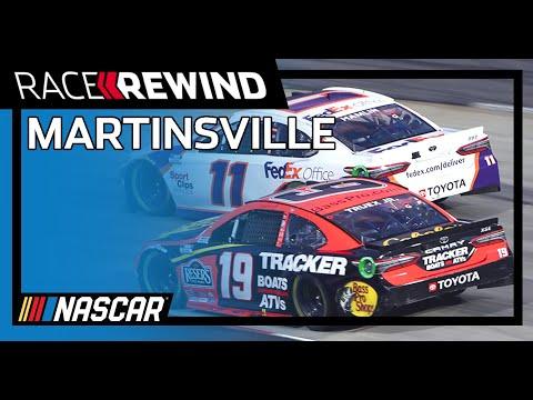 NASCAR ヴァージニア500(マーティンズビル・スピードウェイ)15分ハイライト動画