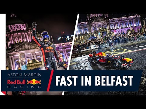 Image: WATCH: Coulthard brings Red Bull back to Belfast