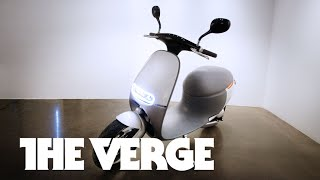 Gogoro's Electric Scooter Of The Future — CES 2015