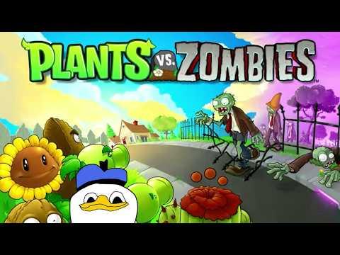 Plants vs. Zombies - Вечерний Двор! (07.07.2018)
