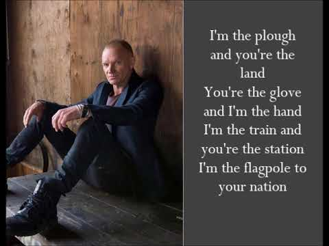 Brand New Day - Sting - (Lyrics)