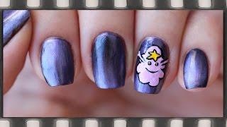 Маникюр Принцесса Пупырка | Adventure Time Nail Art - LSP