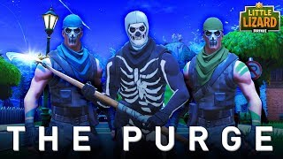 THE PURGE IN FORTNITE #1 * SEASON 5 *Fortnite Short Film