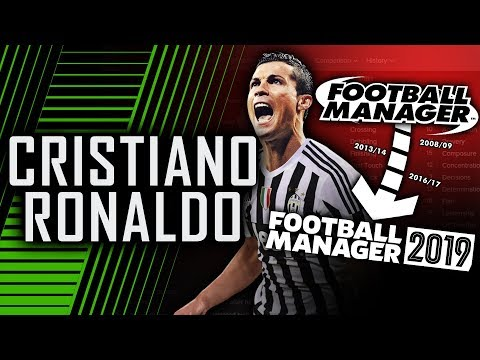Cristiano Ronaldo in Football Manager (2009 - 2019) | Football Manager 2019