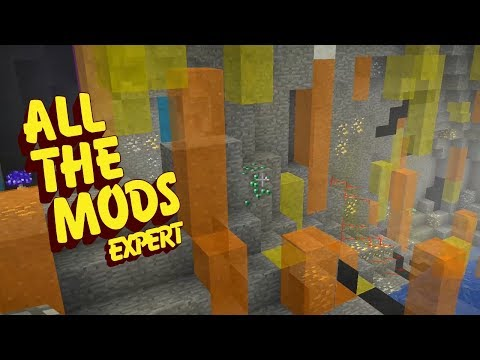 All The Mods Expert Mode - CRYSTAL CAVE [E39] (Minecraft Expert Mod Pack)