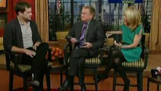 Joshua Jackson - Live with Regis and Kelly 26/01/09