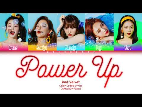 Red Velvet (레드벨벳) - Power Up (파워업) (Color Coded Lyrics) (HAN/ROM/ENG) - Straightforseulgi