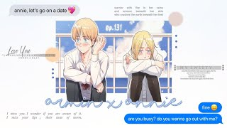 armin and annie ask their friends how to ask the other out on a date | like me lyric prank [aot]