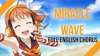 【9人合唱】MIRACLE WAVE (Love Live!) ☆ FULL ENGLISH CHORUS