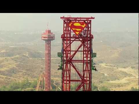 Lex Luthor's Drop of Doom – Six Flags Magic Mountain