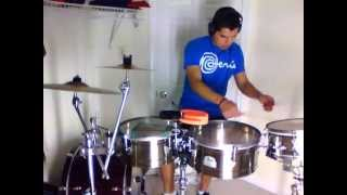 Marc Anthony - Celos (cover timbal)