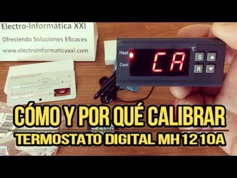 Cómo Calibrar Termostato MH1210A Control de Temperatura Incubadoras