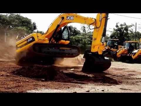 JCB Excavator demonstration video