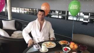 Как Владимир Кличко, отметил свой 41 День Рождения.