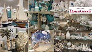 HomeGoods Unique Home Decor Pieces * Beach & Coastal Themed Decor | Shop With Me 2020