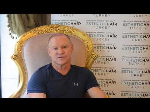 Hair Transplant Review - Mr Andrew Sharing his experience after his operation...