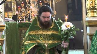 Служба на св. Троицу