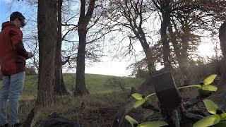 DRONE FPV view (DVR ev800d)