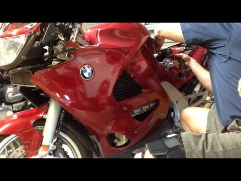 K1200RS Fairing removal
