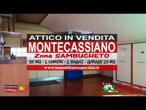 Agenzia Immobiliare Caporalini - Attico - Annuncio SS653 - Video