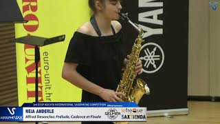 Neja Anderle plays Prelude, Cadence et Finale by Alfred Desenclos