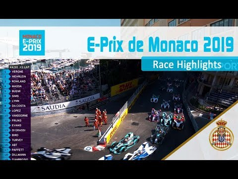 Race Highlights - Monaco E-Prix 2019