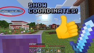 how to turn on coordinates in minecraft bedrock realms - Thủ
