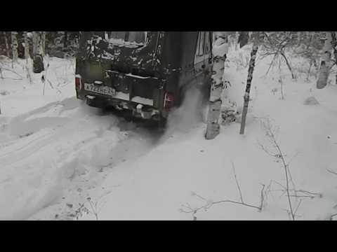 """УАЗ 469 сафари 500 33"""" снег"""