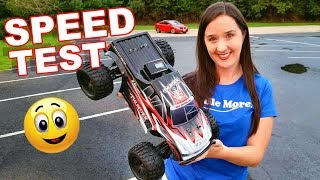 4WD Brushless 1/10th Scale Truck - SPEED TEST - ZD Racing 10427 - S - TheRcSaylors