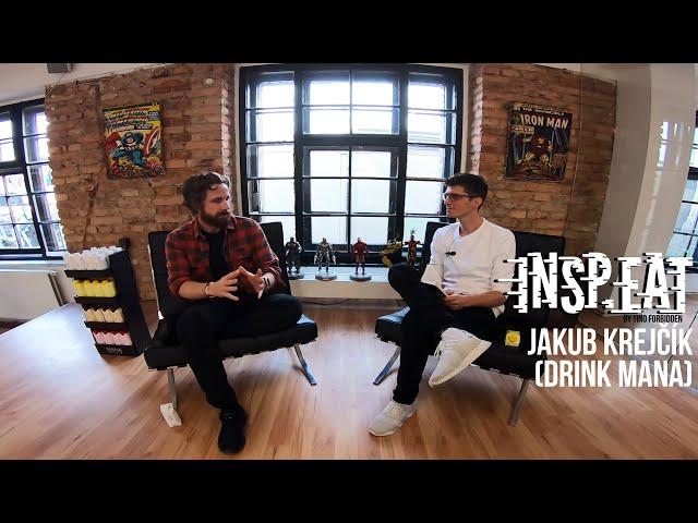 """Jakub Krejčík (MANA): """"Musíš mít talent tvrdě pracovat."""" (INSP.EAT podcast)"""