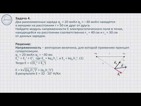Решение задач по теме: «Закон сохранения электрического заряда. Действие электрического поля на электрические заряды»