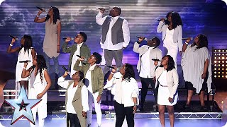 Are Singers Revelation Avenue On The Road To Success? | Semi Final 2 | Britain's Got Talent 2015