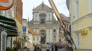 preview picture of video 'Vilnius (Vilniaus) the capital of  Lithuania by Cehulić family'