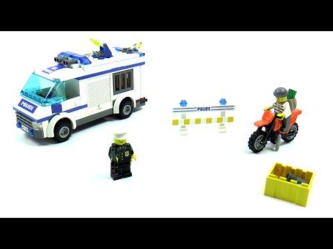 Vidéo LEGO City 7286 : Le transport du prisonnier