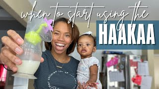 Addressing your comments about breastfeeding | When to start using Haakaa Breast Pump