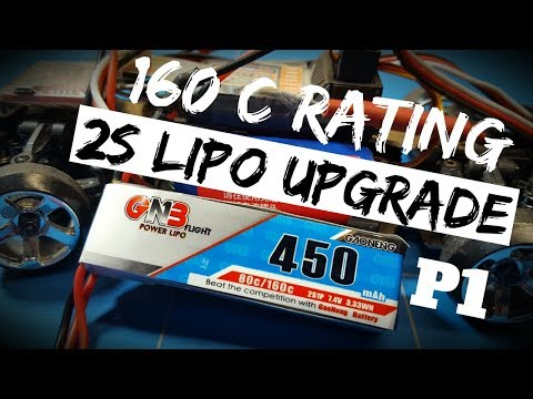 Wltoys K989 1 28 Rc Drift Project EP6 Gaoneng Best 2s Lipo Battery Upgrade and Mod Part 1 Review
