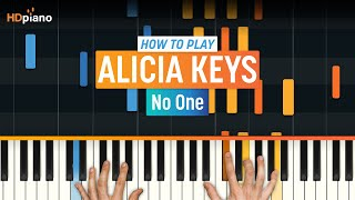 """No One"" by Alicia Keys 