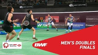 F | MD | KAMURA/SONODA (JPN) [1] vs. KO/SHIN (KOR) | BWF 2019