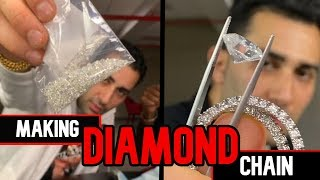 MAKING DIAMOND CHAIN Step By Step