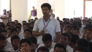 "Pon Jesly Engg College-Umashankar IAS - Q & A on ""Formula for success in life"""
